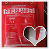 0.5mm 1.2m*1.2m Good quality 100% fiberglass Fire Blanket welding blanket