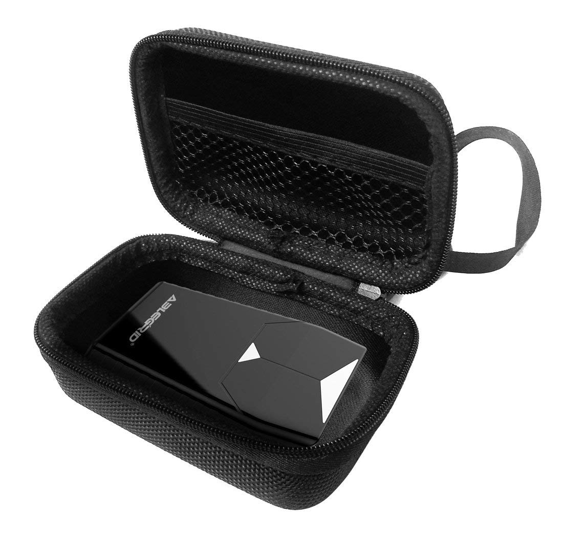 FitSand Hard Case for ABLEGRID GT001 Real Time Magnetic Small GPS Tracking Device Locator Travel Zipper Carry EVA Hard Box