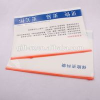 Promotion gift A4 PP plastic waterproof document holder