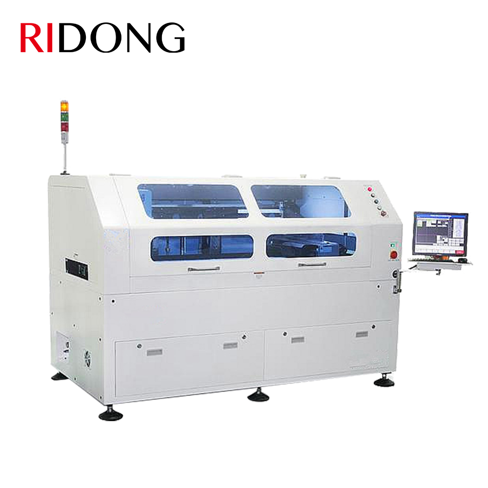 Manual Solder Paste Pick and Place / Stencil Printing Machine LED Circuit Printer Machine with PCB
