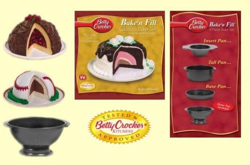Betty Crocker Bake'n Fill 4 Piece Bake Set