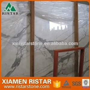High quality Italian Calacatta white marble for tiles,slabs,countertop,vanity top