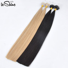 Double Drawn Indian Micro Links Loop Hair 0.5g/0.8g/1g Cheap Micro Ring Hair Extension