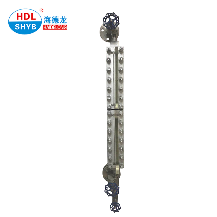Direct Reading Sight Glass Plate Water Tank Level Gauge Density