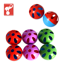 factory supply free sample golf practical hollow plastic ball wholesale wiffle balls
