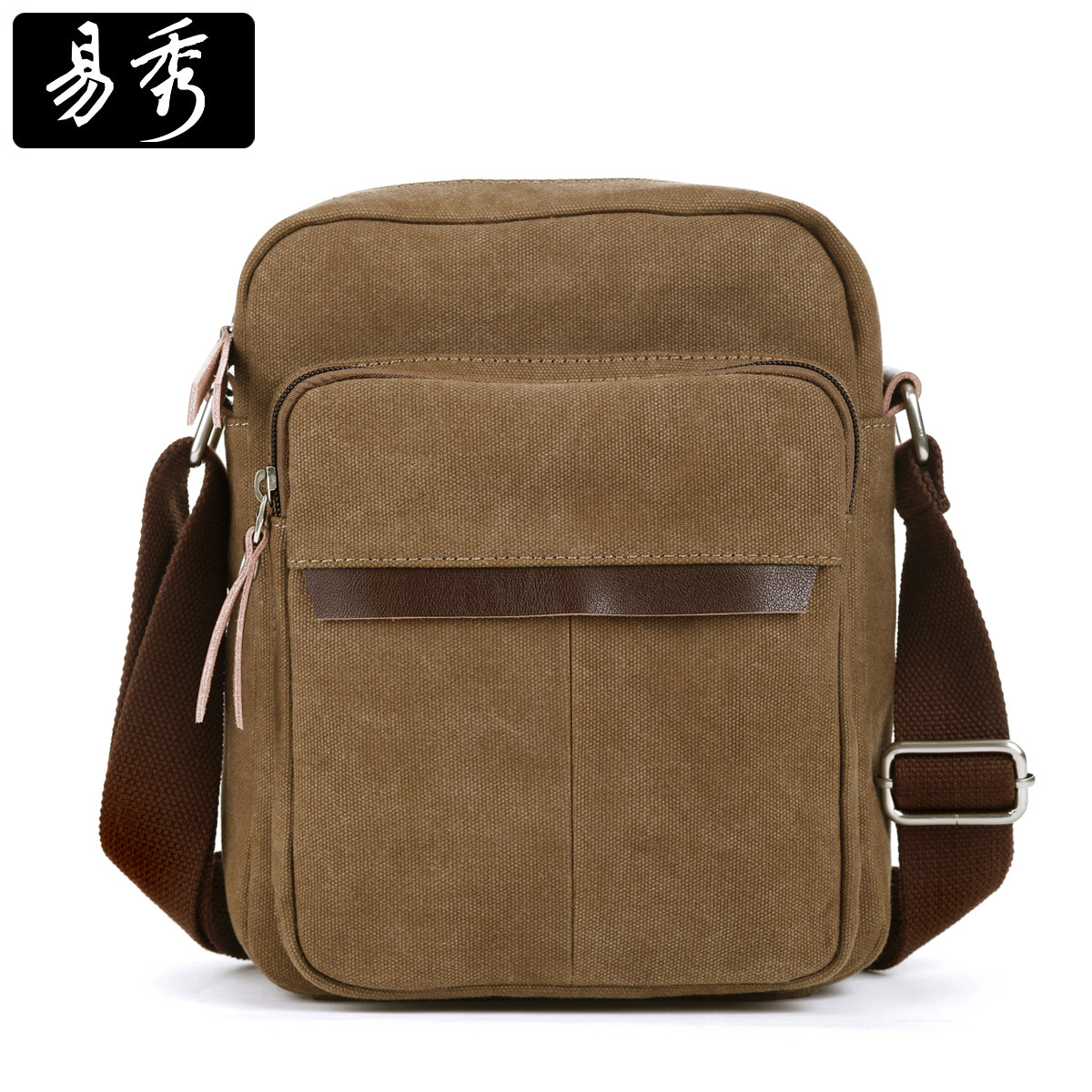 9632f35fcb Get Quotations · Canvas man bag one shoulder cross-body 2014 male small bag  casual male bag man