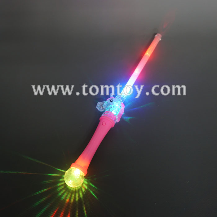 2018 New LED Flashing Unicorn Stick Wand with cheap price