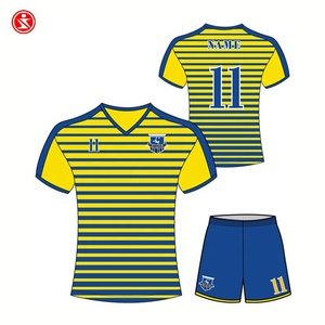 Best Quality China Manufacturer Kids Brazil Soccer Training Suit Jerseys