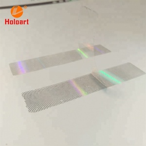 Anti-counterfeiting Hologram Strip Label / Hologram Security Label For Wholesale