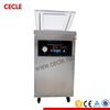 Semi-automatic salted fish continuous vacuum packing machine
