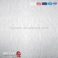 aluminium composite panel/aluminum foil faced mdf for kitchen furniture/decorative wall panel