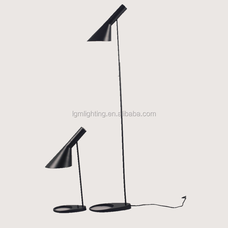 Replica AJ Floor lamp 8581F white/ black finish cheap design lamp