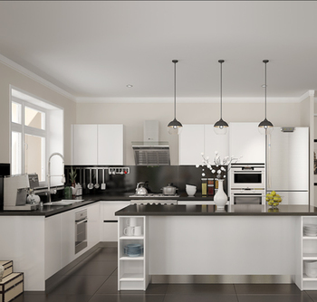 2106 Modular Apartment Kitchen Cabinet Unit One Piece Kitchen Units
