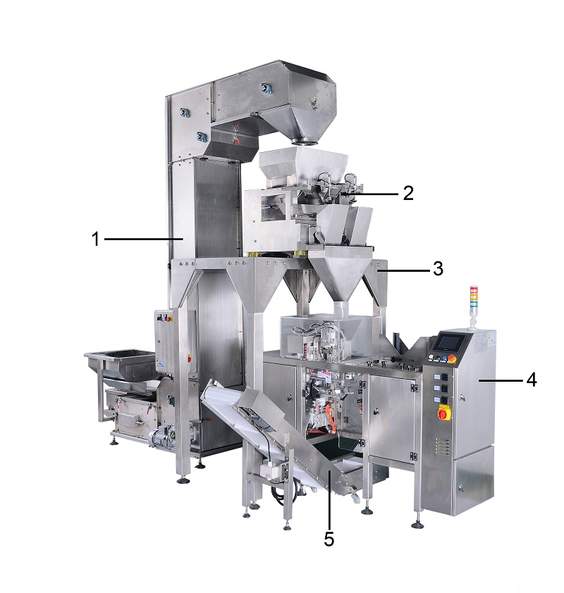 Smart Weigh pack weigher popcorn packaging machine with good price for food weighing-12