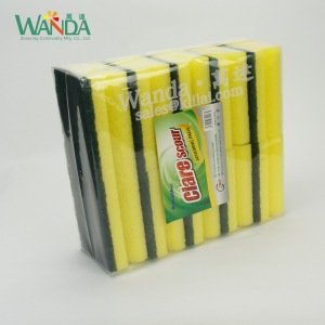 Grip sponge scouring pad scouring sponge cleaning sponge for house cleaning