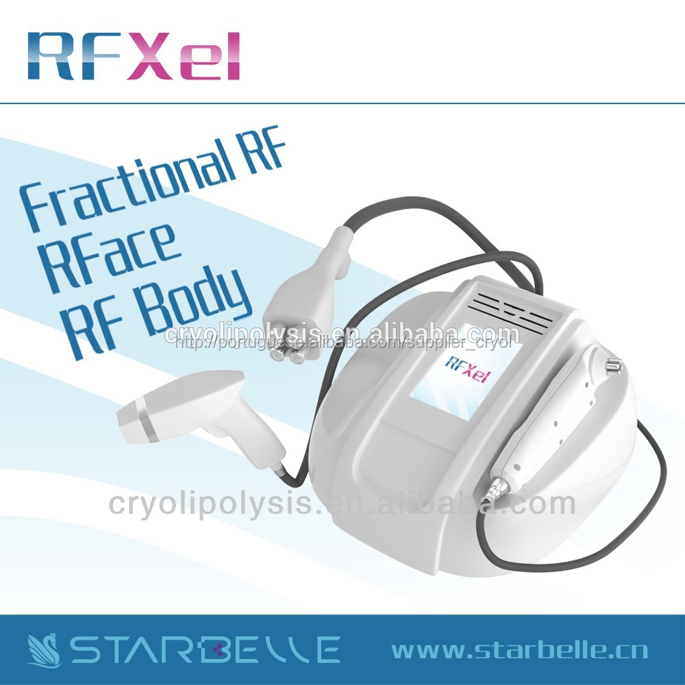 Portable Three Head RF face lifting wrinkle devices for home use-RFXel