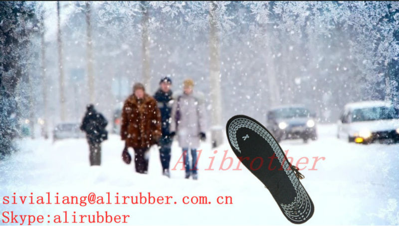 Battery Heated Insole/Shoe Insoles For Winter Ski Boots