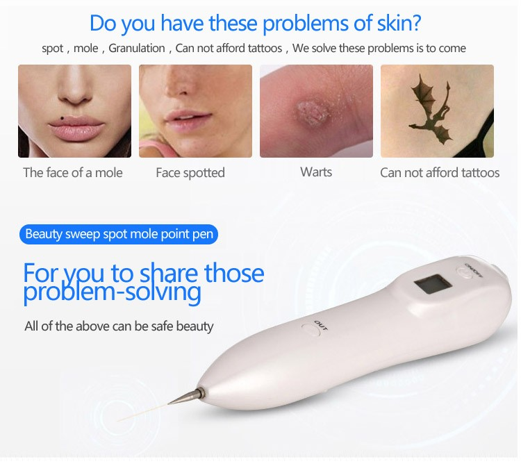 mole and freckle removal plasma pen