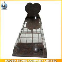 Haobo Stone Factory Wholesale Paradiso Single Heart Tombstone