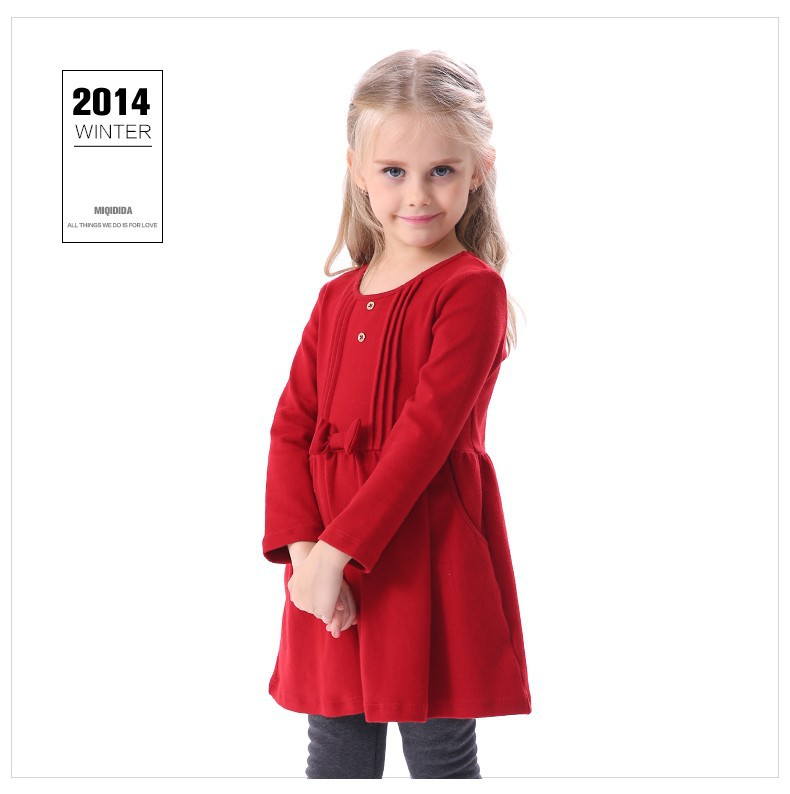 0186b9a2ee6 Je veux trouver un joli robe de qualité pour ma fille ou pour offrir pas  cher ICI Robe fille hiver 2015
