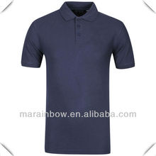 Supreme high Quality double mercerized Cotton blank design Short Sleeve golf POLO Shirts Made in China wholesale