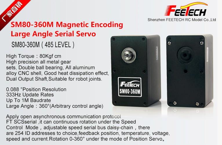 Feetech New servo sm80 80kg robotics servo High torque robot, View SM80,  FEETECH Product Details from Shenzhen Feixiang Model Co , Ltd  on  Alibaba com