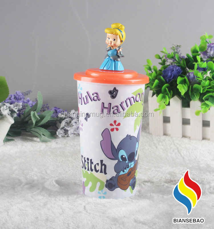 Customized Creative design color changing mini party beer plastic cup