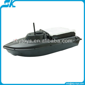 Fish finder bait boat jabo 2bs remote control bait boat for Rc fishing boat for sale