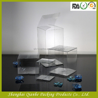 Clear Plastic Cube Gift Box For Food