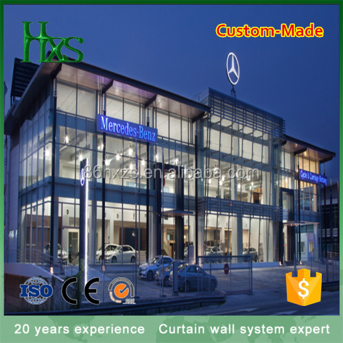Huixiang Glass Curtain Wall Of The Beauty Of Steel Structure Building