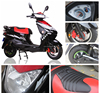 High speed fat tyre 72v 1200w electric battery powered motorcycle