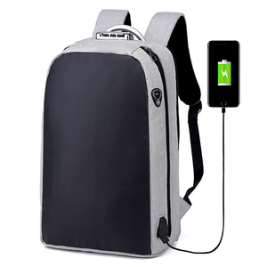 Wholesale Fashionable Travelling Waterproof Mochilas Accept Custom Logo USB Charging Anti Theft Laptop Backpack