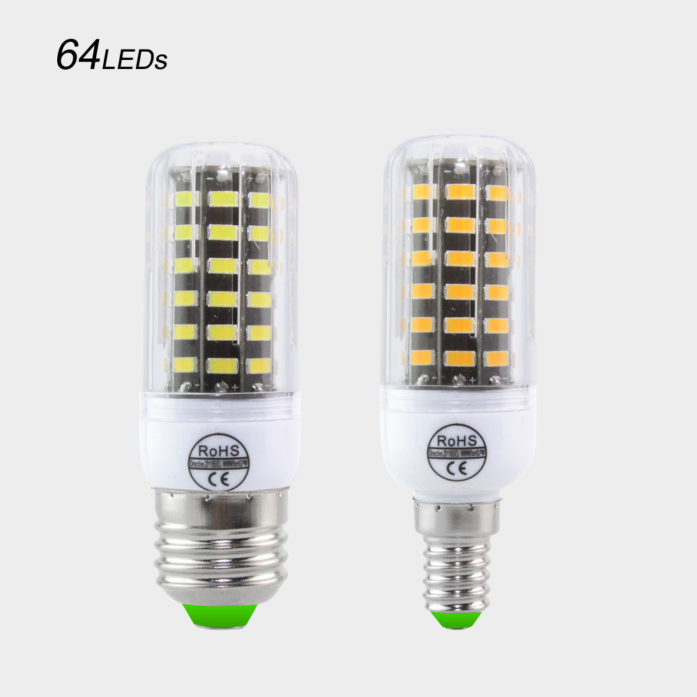 Buy foxanon e27 e14 led lamp 220v 110v for Lampada led e14