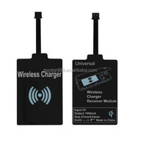New QI Wireless Charger Charging Receiver Module for Android Devices Universal Black OEM