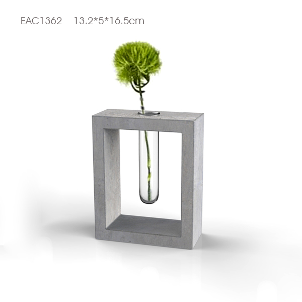 Mini Concrete Planters For Succulentconcrete Vase For Wedding And