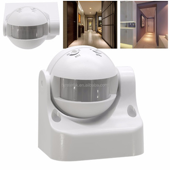infrared remote control light switch12m max motion sensor wall switch220v automatic pir