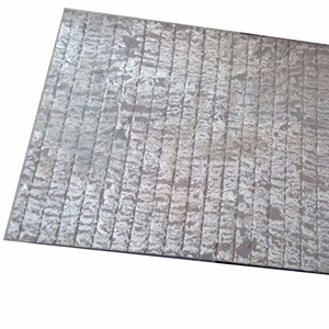 A36 mild steel with abrasion resistant chromium carbide overlay wear plate