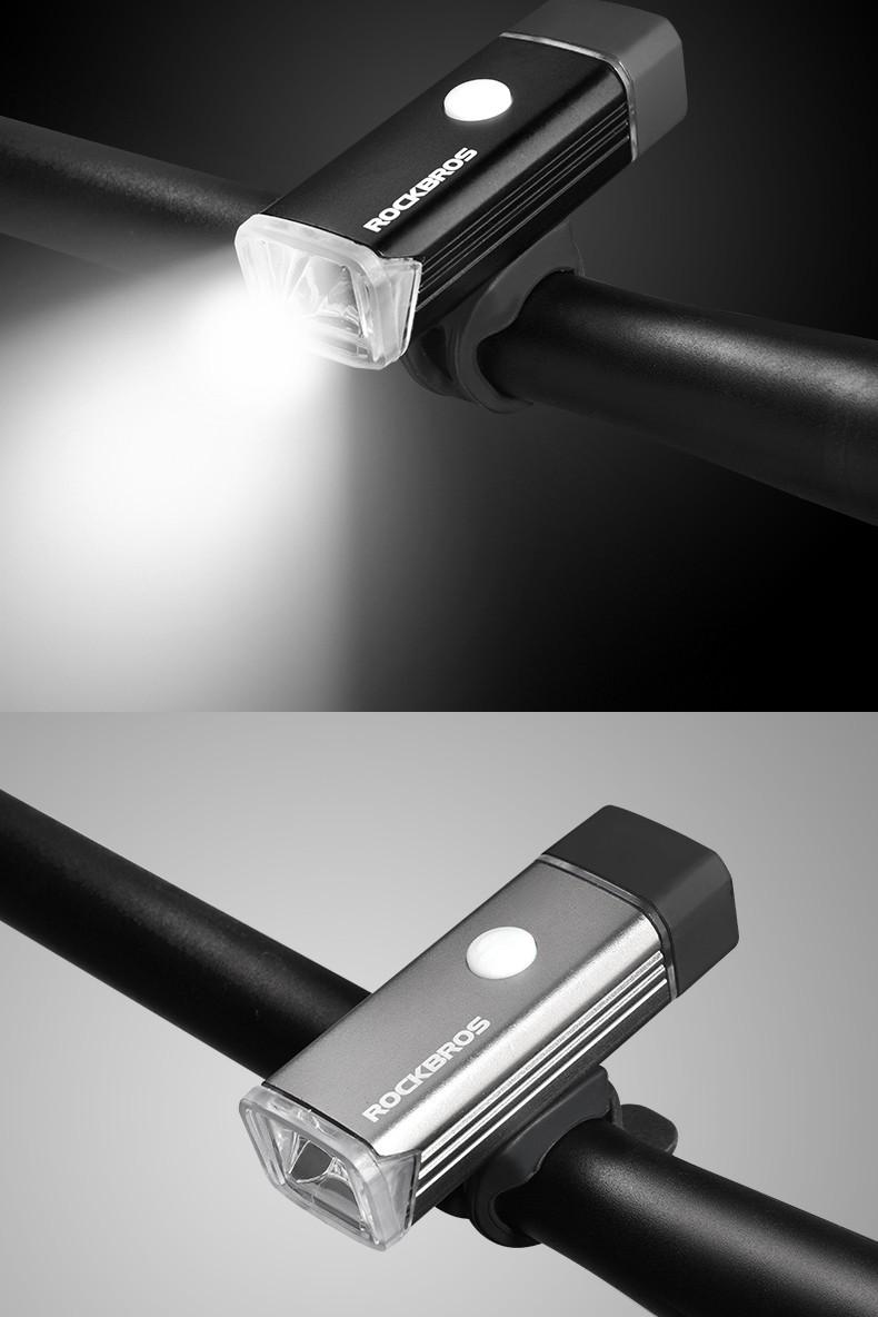 Rockbros Grosir Waterproof Usb Rechargeable Sepeda Depan Hy Ld306 Bicycle Headlight 100 Lm Lampu Handlebar Led Mini Flash Light