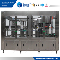 The Advanced New CGF18-18-6 High Quality Automatic Mineral Water Plant Machinery Cost to Khazakstan