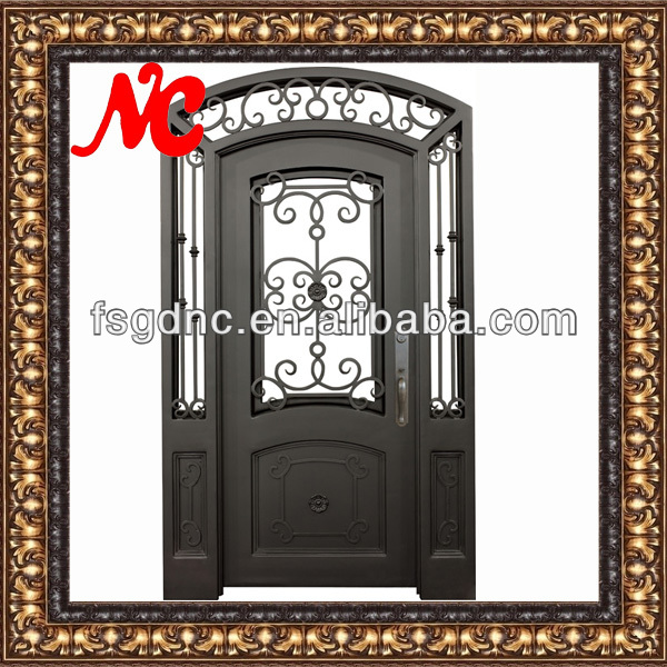Metal Hierro Puertas Para Frentes De Casas - Buy Product on Alibaba.com