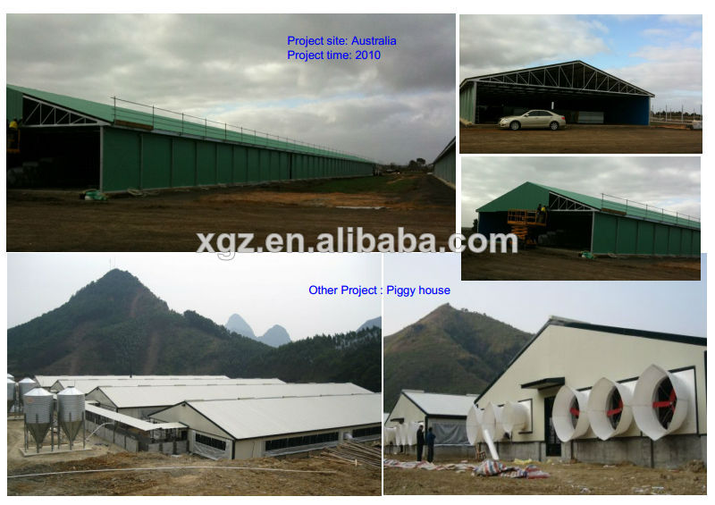 Steel structure chicken house(pheasantry)