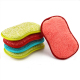Microfiber Kitchen Scouring Pads Scourer Non Odor Dish Scrubber Brush Double Sided Scrubbing Sponges