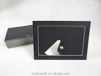 Mat Board Photo Frame With Stand