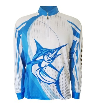 Long sleeve 100%polyester mesh fishing shirts uv protection full sublimated bass unisex t-shirt