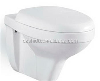 New model small size wall hung p trap toilet seat wall hung toilets