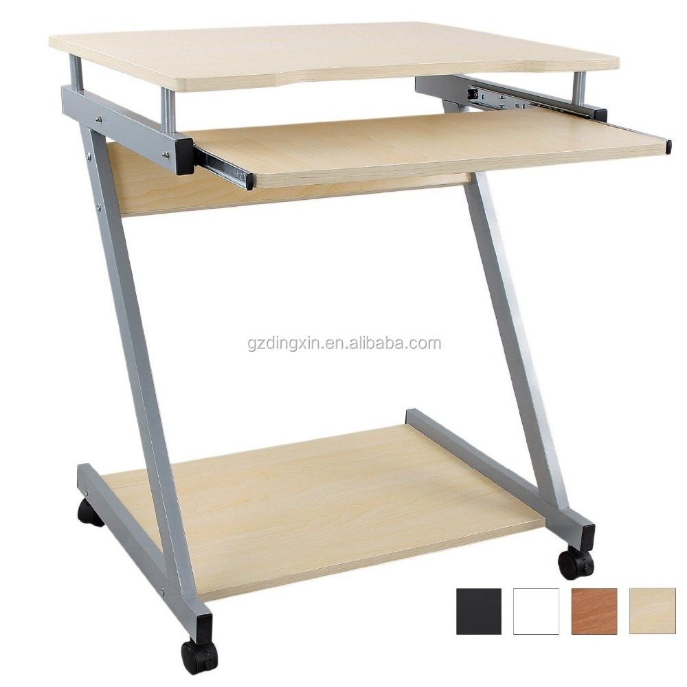 Lightweight Desk: Portable Computer Desk Folding Table With Wheels