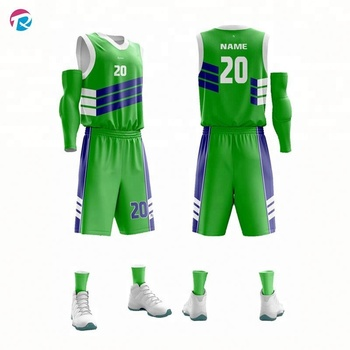Professionelle Design Philippinen benutzerdefinierte Basketball Uniform