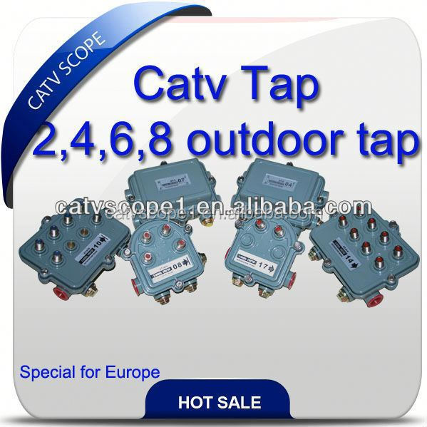 CATV Outdoor 4 way Tap DT-2xx /COUPLER