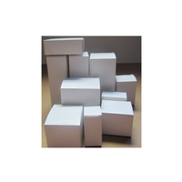 Customized product packaging small white box packaging,plain white paper box,white cardboard box