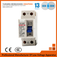 3 phase 2-6 amp earth leakage mccb over-voltage protection miniature residual current air micro circuit breaker price